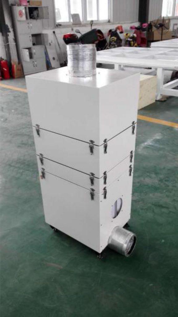 Filter za vazduh lasera za graviranje sa mobuilnom stanicom i 4 filtera. Prodaja, servis, obuka i garancija