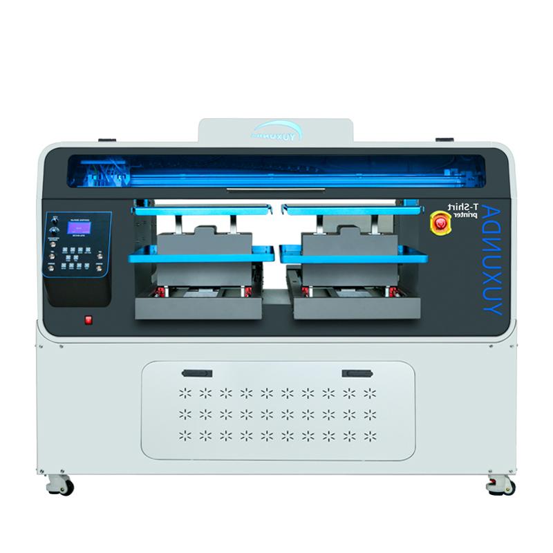 BEOTEX PRO DTG printer za majice sa dve radna mesta, 4 CMYK + bela boje